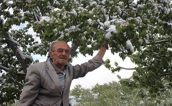 Konya'ya kar yağdı