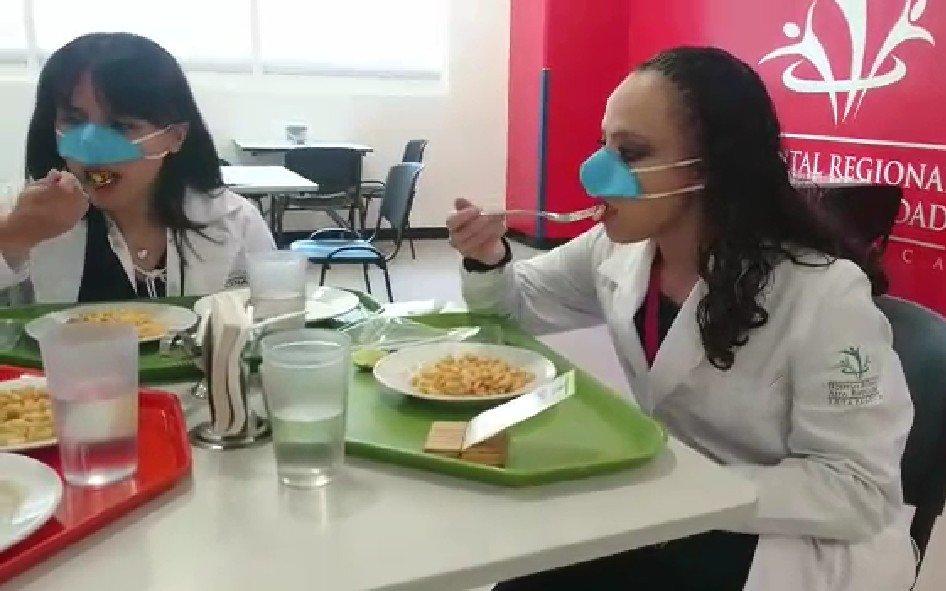Koronavirüse karşı 'burun maskesi'