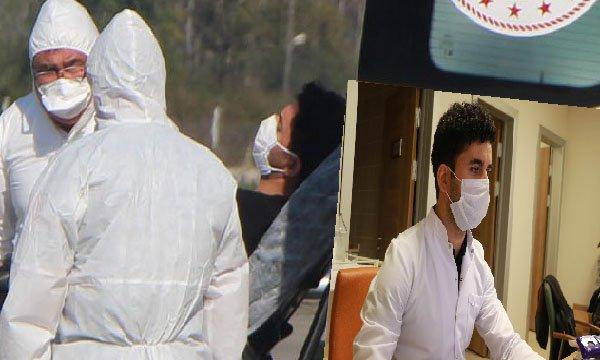 Koronavirüsü yenen Afgan doktor görevine döndü(video)