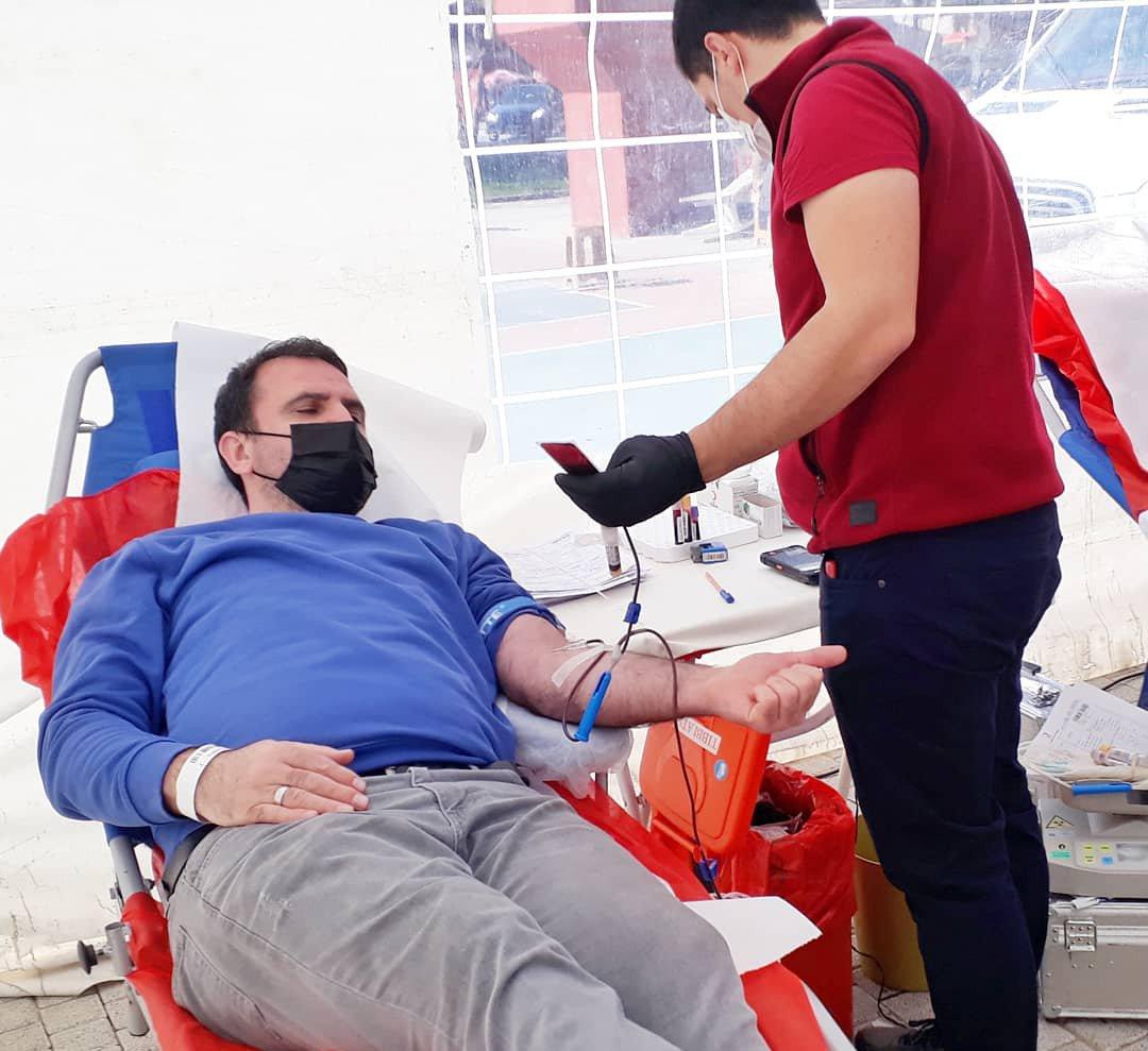 Küçükçekmece Kan Bağışına koştu