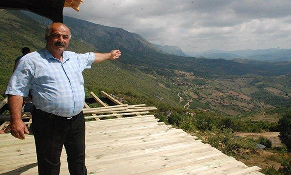 Küre Dağları Milli Parkı'na 10 metre yüksekliğinde seyir terası