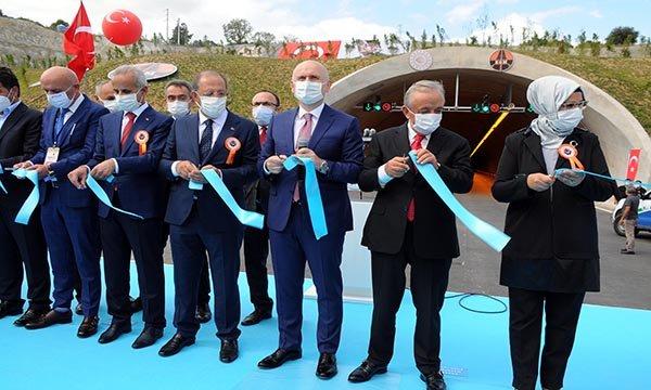 Kuzey Marmara Otoyolu'nun Gebze-İzmit kesimi, törenle açıldı
