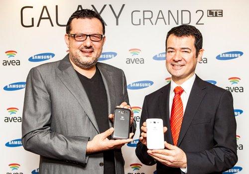 Liderler Bir Araya Geldi Galaxy Grand 2 LTE'yi Üretti!