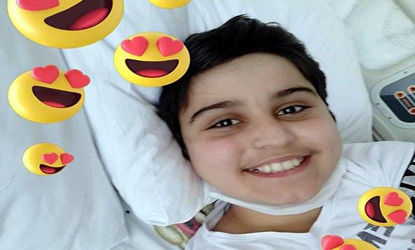 Lösemi hastası Burak'a  arkadaşlarından destek