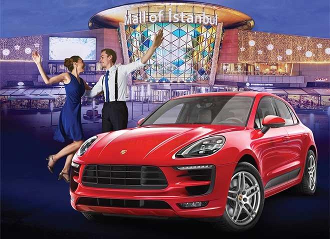 Mall of İstanbul'da 150 TL'ye Porsche