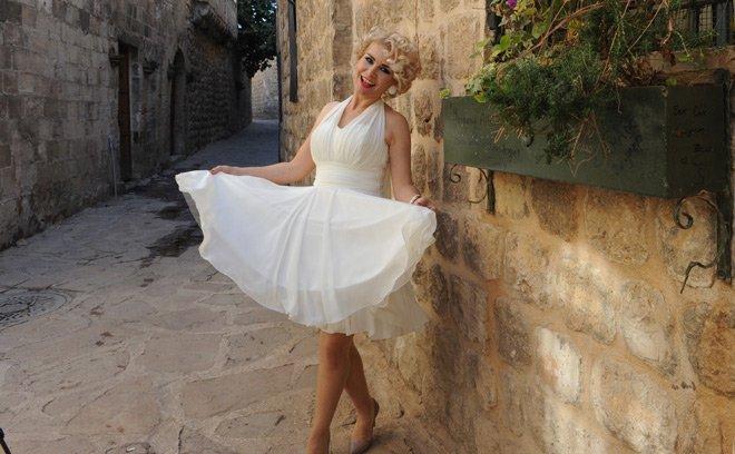 Marilyn Monroe Mardin'de