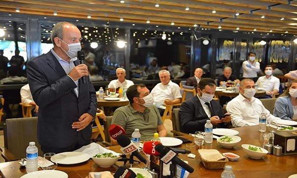 Marmara Ereğlisi Belediye Başkanı Ata, AK Parti'ye geçti(video)