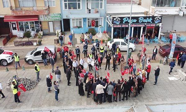 Marmara Ereğlisi'nde, 29 Ekim kutlamaları(video)