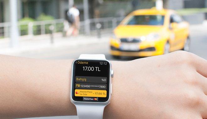 MasterPass, Dünyada ilk Apple Watch uygulaması