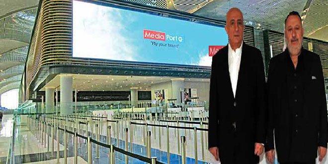 Media Port İstanbul havalimanı'nda markaları uçuracak!