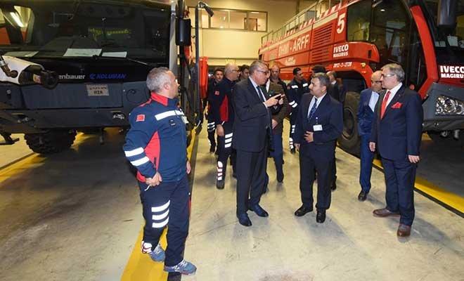 Mehmet Ateş Gaziantep Havalimanı'nı ziyaret etti!