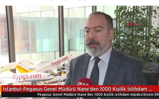 Mehmet Nane: Gençler pilot olun 30 bin TL maaş!