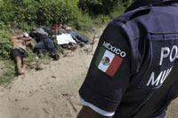 Meksika'da 14 Başsız Ceset Bulundu