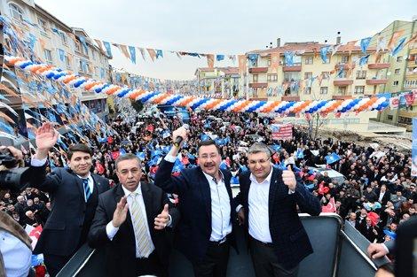 Melih Gökçek, Pursaklar AK Parti Seçim kalesi olmuştur