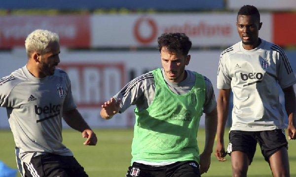 Mensah, Beşiktaş ile ilk antrenmanına çıktı
