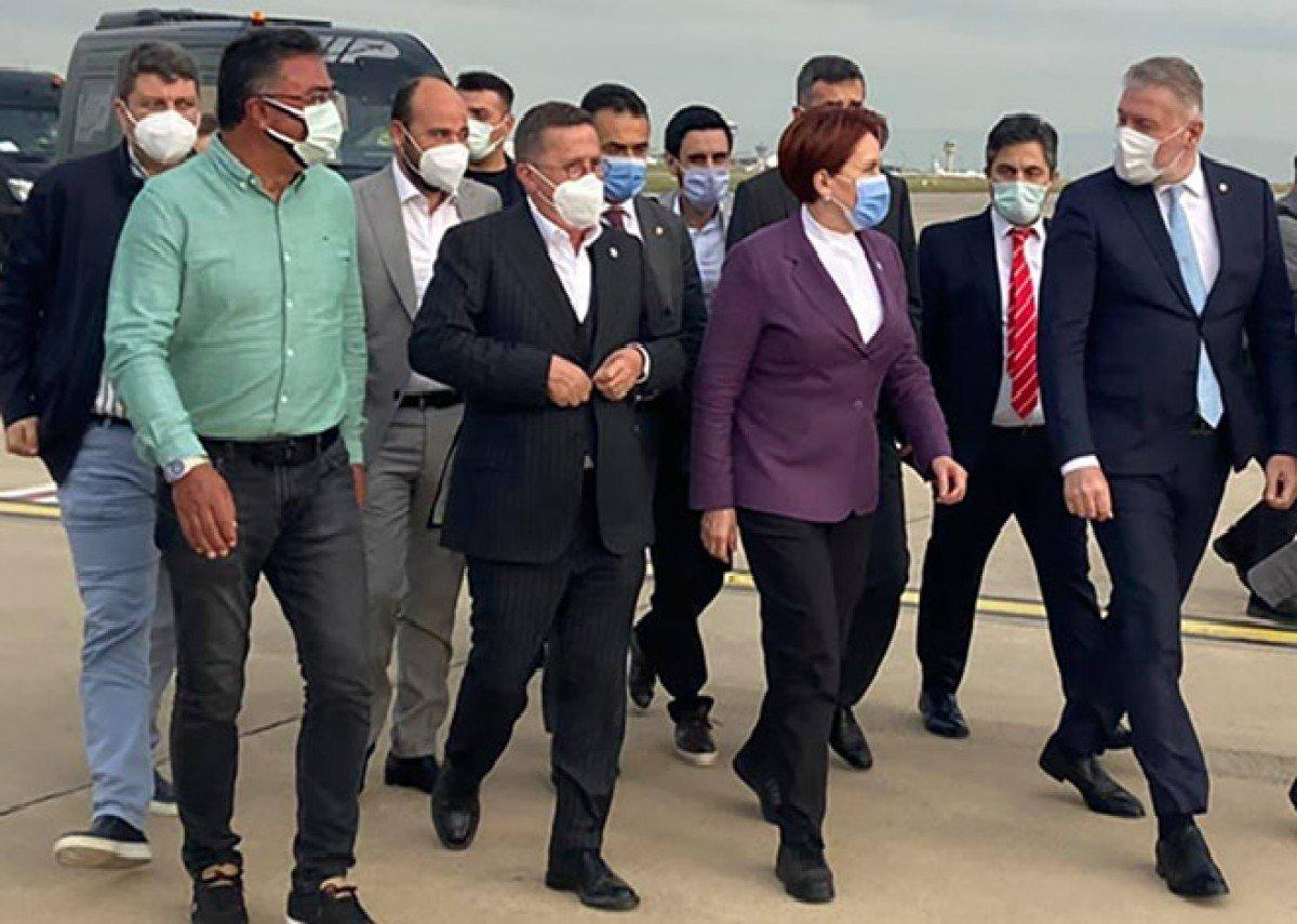 video#Meral Akşener Atatürk Havalimanı'nda