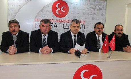 MHP Manisa İl Teşkilatı görevden alındı.