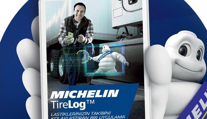 Michelin'in yeni dijital uygulaması TireLogTM