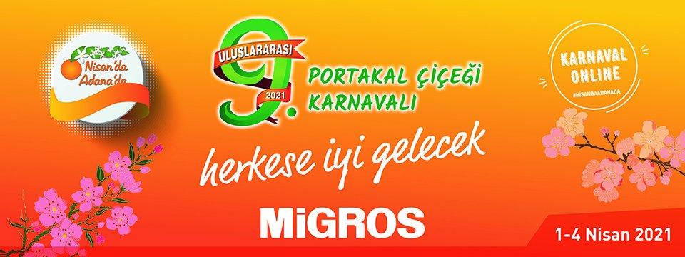 Migros, Adana Portakal Çiçeği Karnavalı'nı Evlere Getiriyor