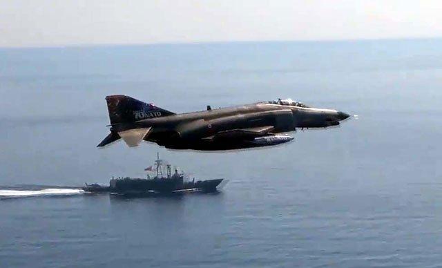 'Milli Anadolu Kartalı-2021' eğitimi kapsamında, 101 sorti uçuş(video)