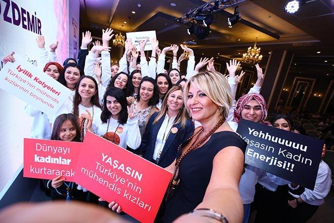 Mühendis Kızlar İstanbul'da buluştu!