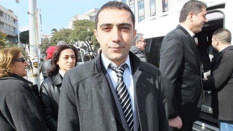 Müjdat Bahadır, adaylık başvurusu için Balıkesir'e gitti.