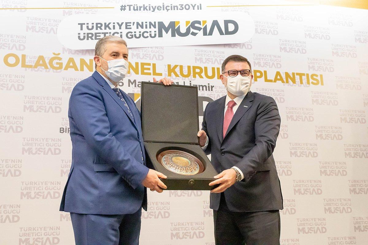 MÜSİAD İzmir Başkanı Bilal Saygılı yeniden seçildi