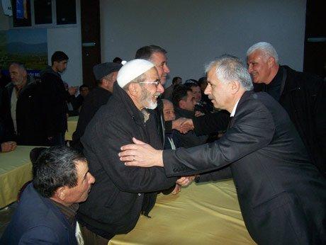 Mustafa Akdeniz, baba ocağında