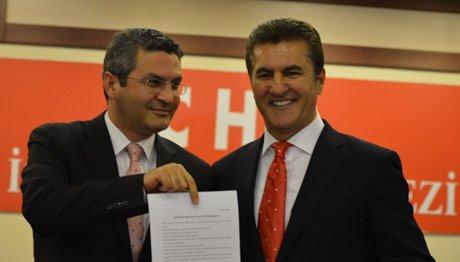 Mustafa Sarıgül aday adaylık başvuruşunu yaptı
