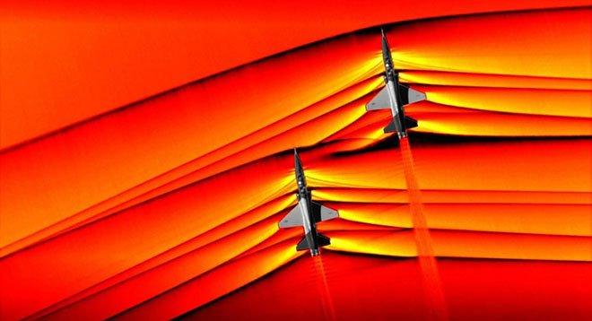 NASA'dan 'sonic patlama' paylaşımı