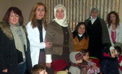 Nazmiye Erdem Anaokulu'nu ziyaret ettiler.