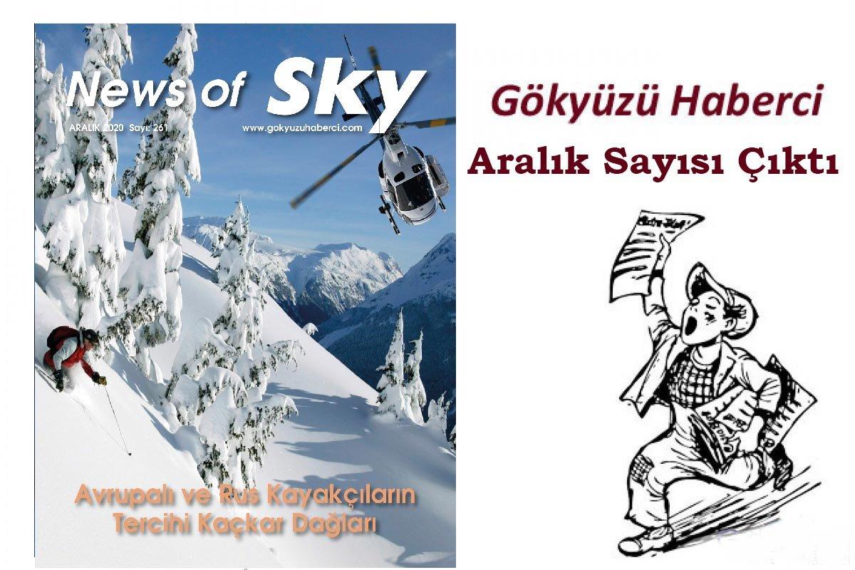 News of Sky, Aralık Sayısı çıktı!