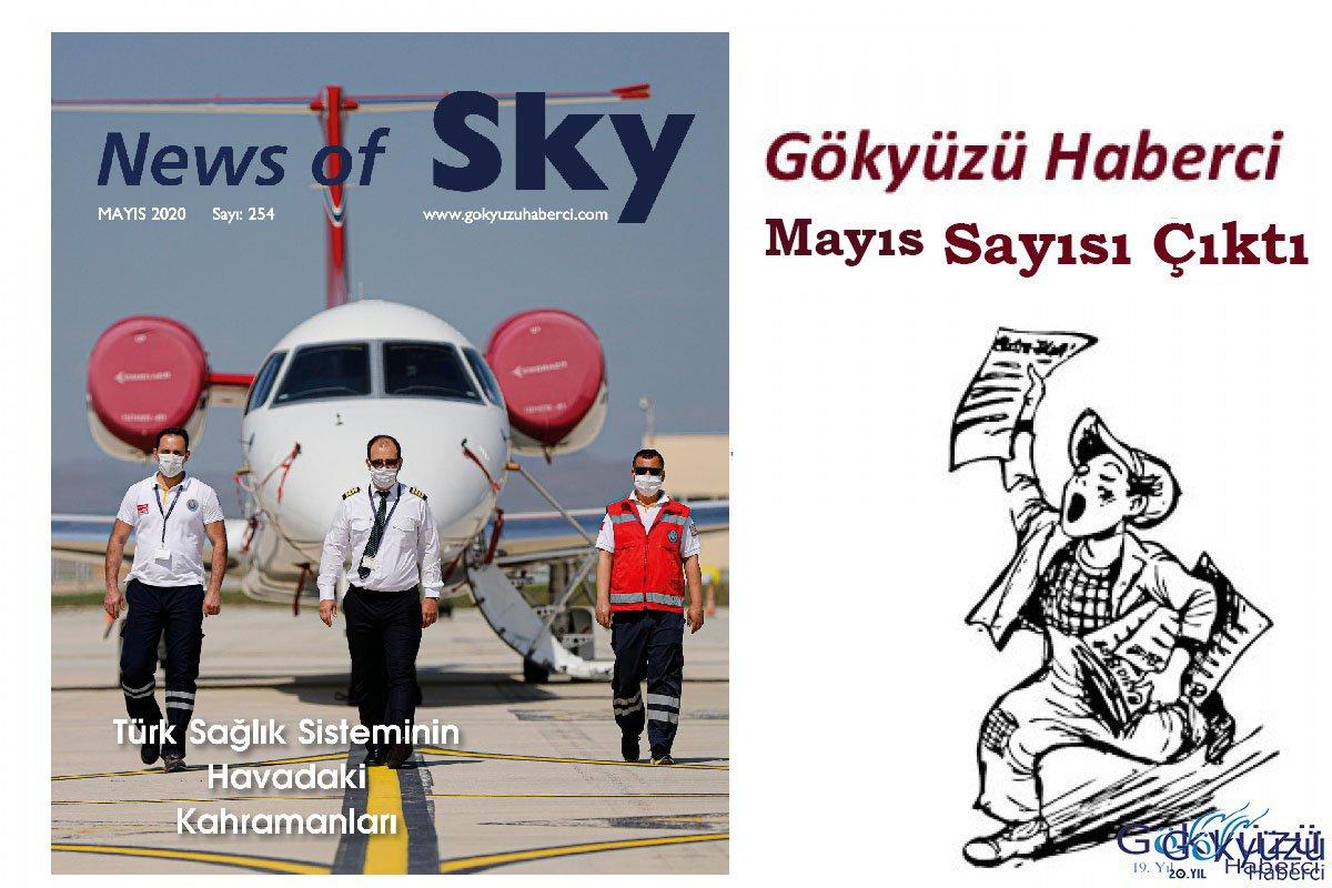 News of Sky Dergimiz Mayıs Sayısı çıktı!