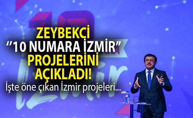 Nihat Zeybekci İzmir projelerini açıkladı