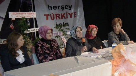 Nilüfer Ebeoğlugil yeniden başkan seçildi.