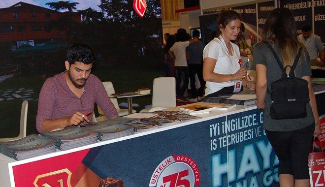 Nişantaşı Üniversitesi Ankara Eket Tercih Fuarındaydı