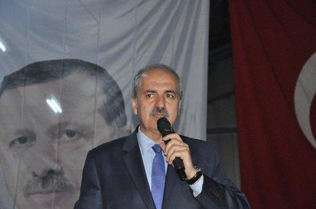 Numan Kurtulmuş Bitlis'te