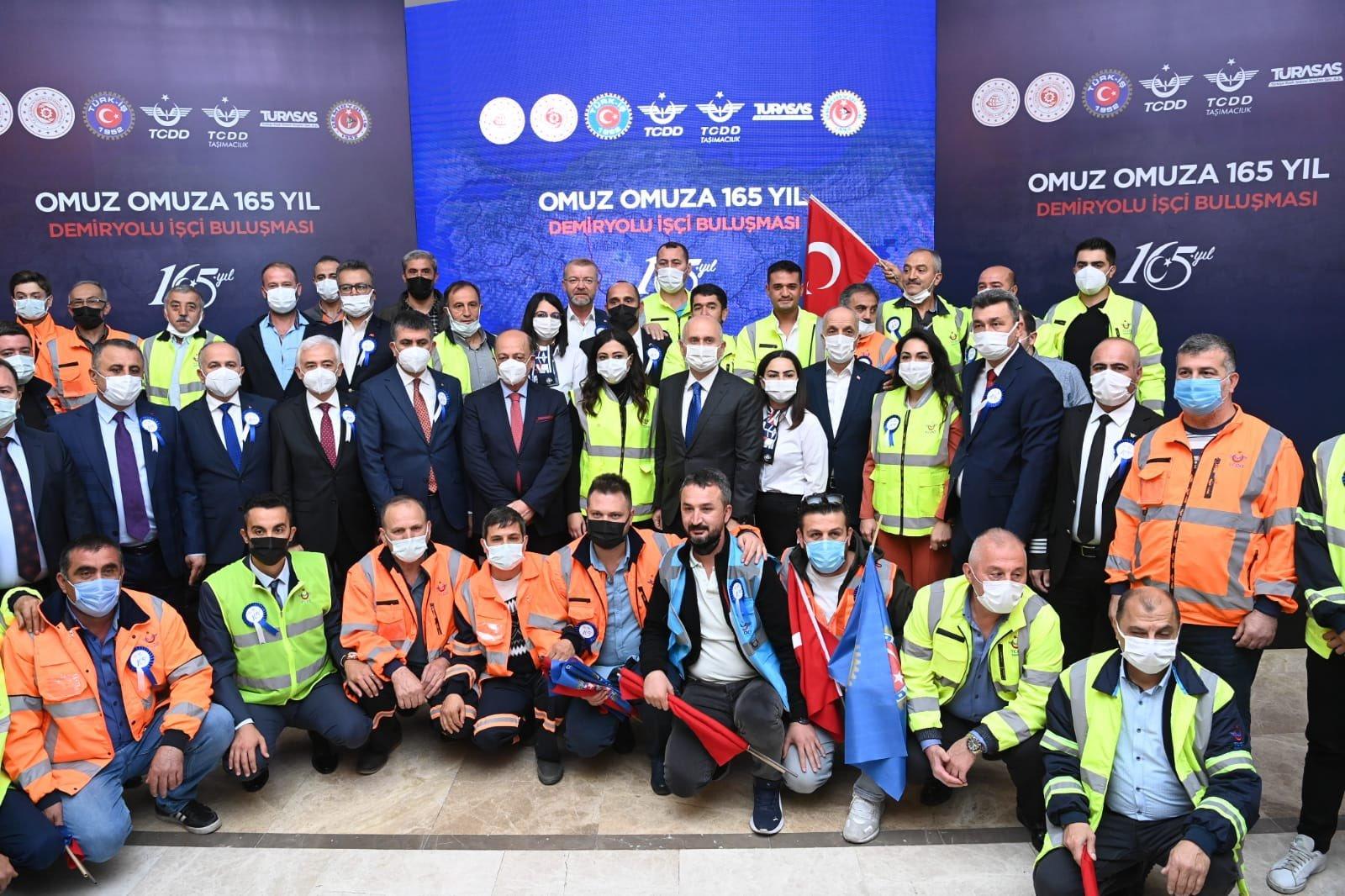 #Omuz Omuza 165Yıl TCDD İşçi Buluşması #video