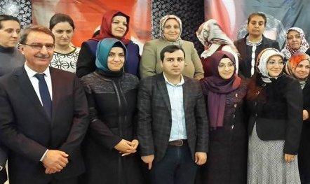 Öncel,AK Parti Artuklu Kadın Kolları Başkanı seçildi.