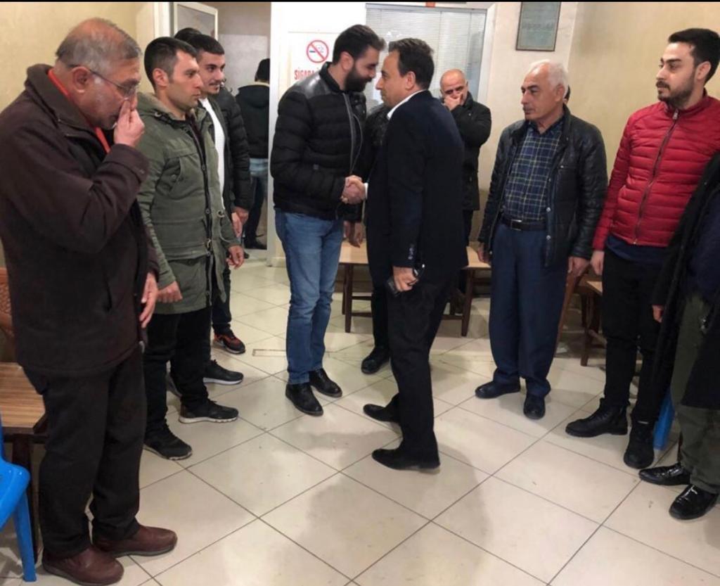 Onur Hareketi Lideri Yaşar Aydın Diyarbakır'da