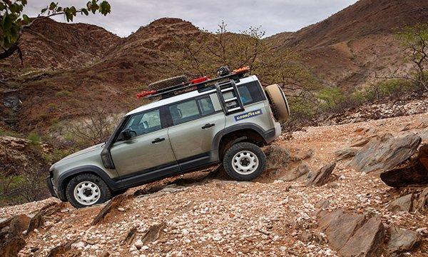 Orijinal arazi ikonu - Yeni Land Rover Defender