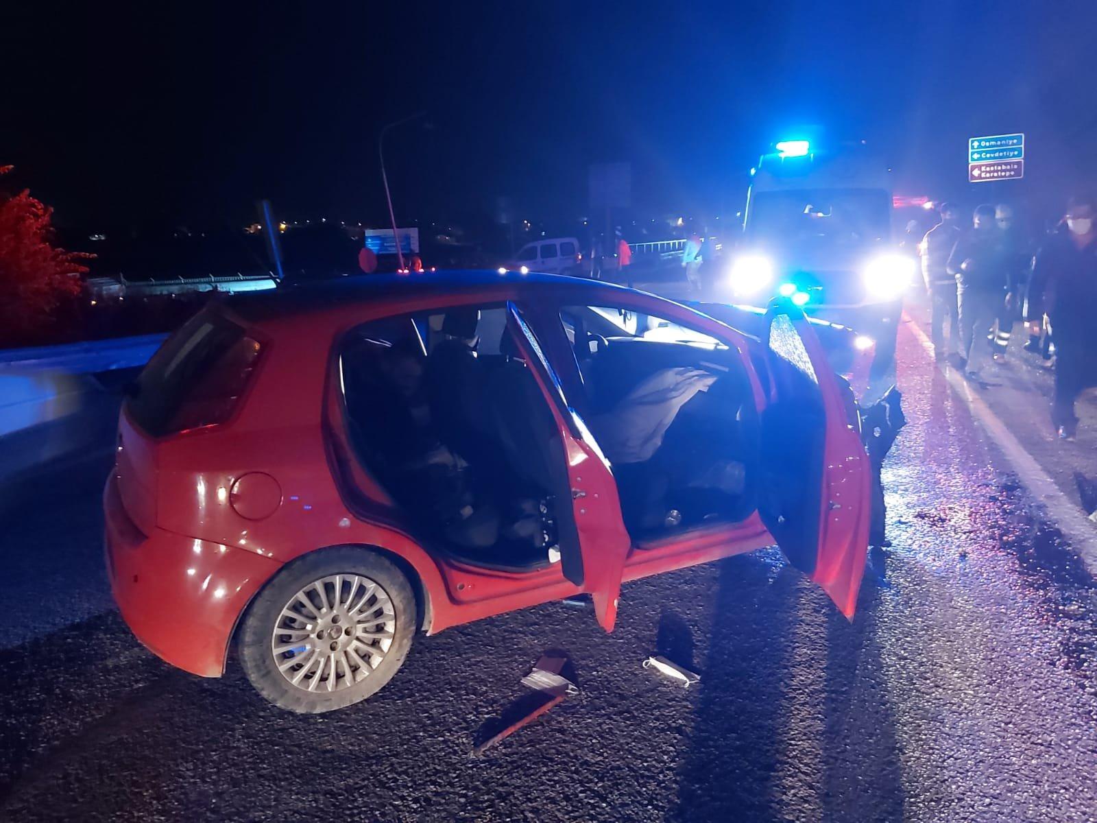 Osmaniye'de feci kaza: 1 ölü 5 yaralı