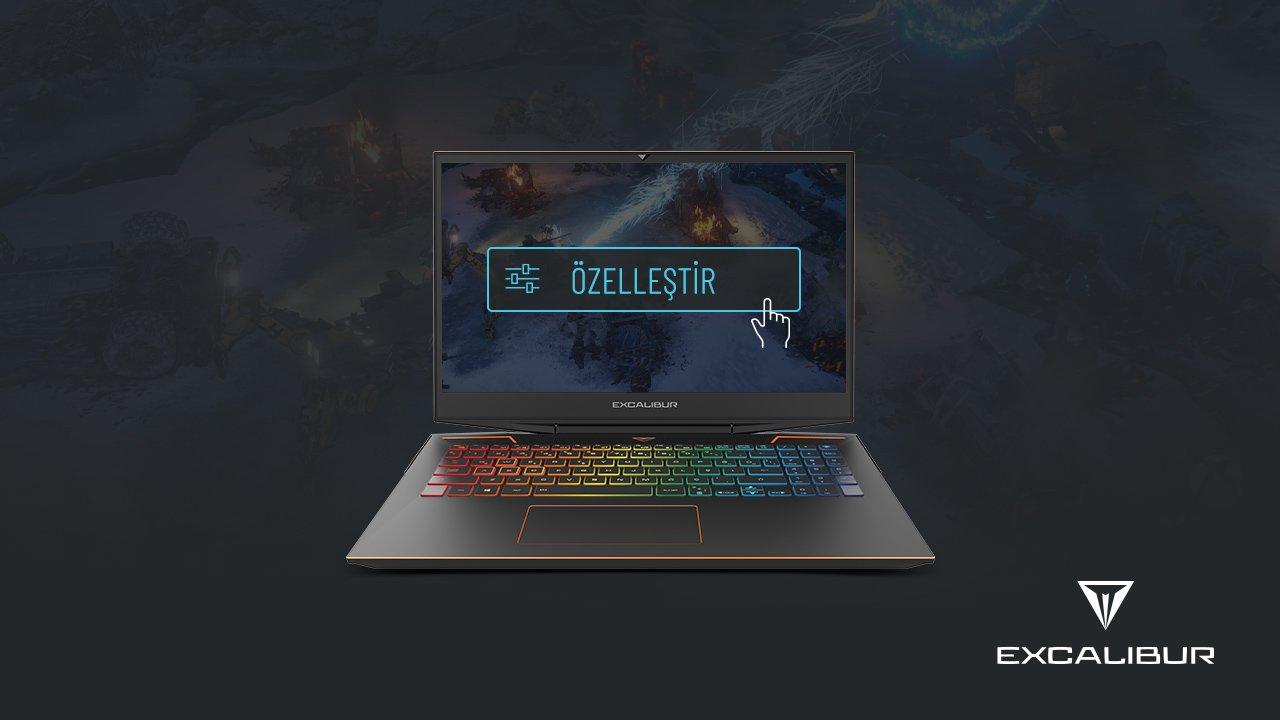 Oyun bilgisayarı özelleştime Excalibur'da!