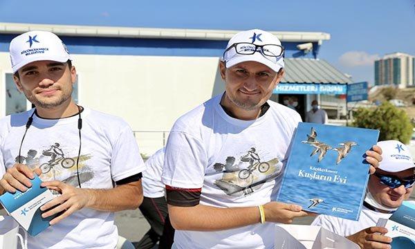 Pedallar,nesli tükenmekte olan kuşlar için çevrildi