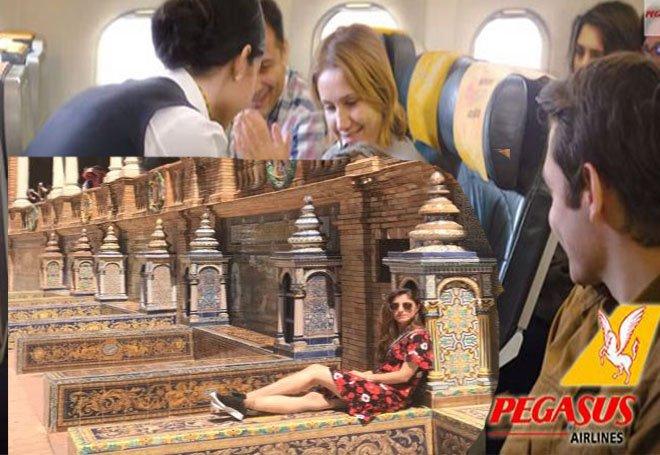 Pegasus hostesi Iraklı minik yolcuyu mağdur etti!