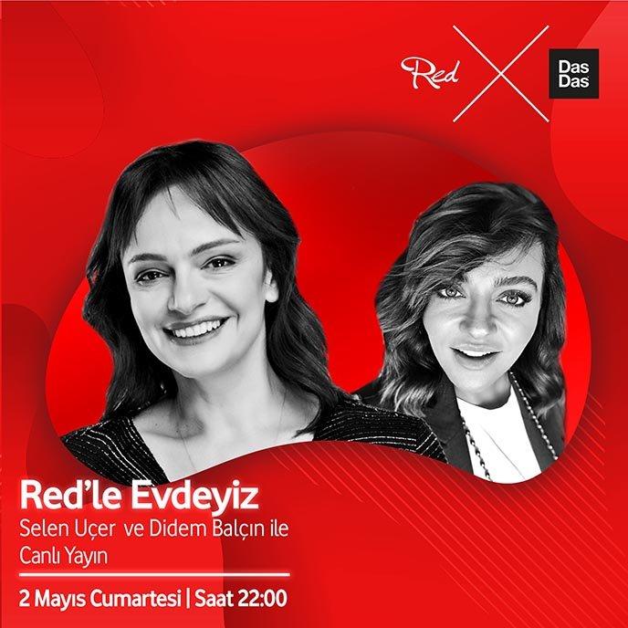 """Red'le Evdeyiz"" online sohbet"