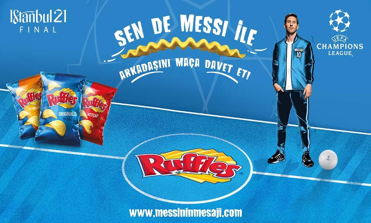 Ruffles Messi'yi Türkçe Konuşturuyor!