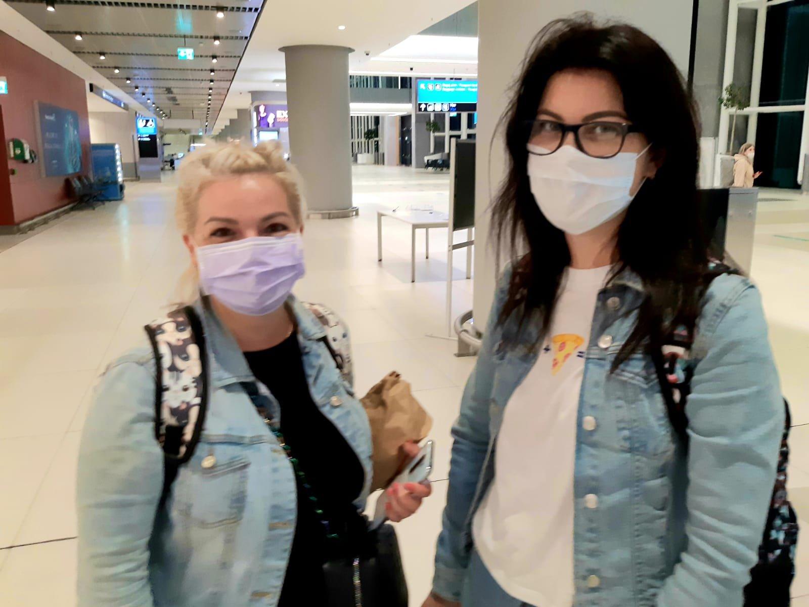 Rus turistler İstanbul Havalimanı'nda