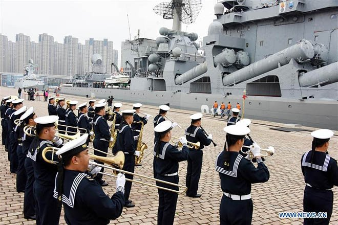 Rus ve Çin Donanmasından Ortak Eğitim