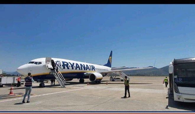 Ryan Air ilk uçuşunu Salamanca Havalimanına yaptı.